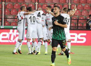 Akhisar 0-2 Beşiktaş