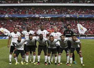 Benfica - Beşiktaş maçından kareler