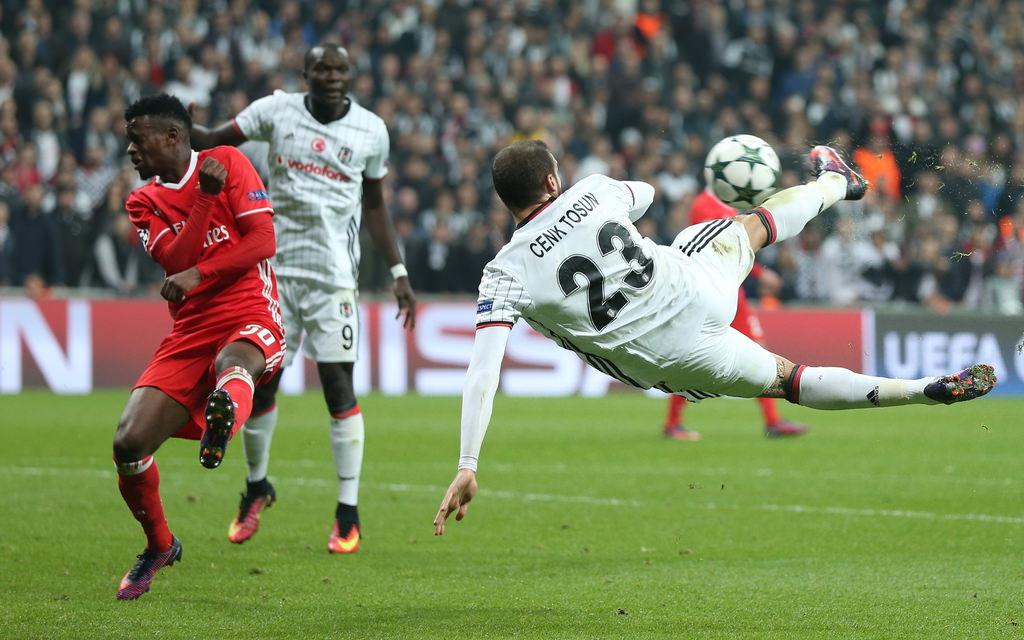 Beşiktaş - Benfica maçı Twitter'ı salladı!