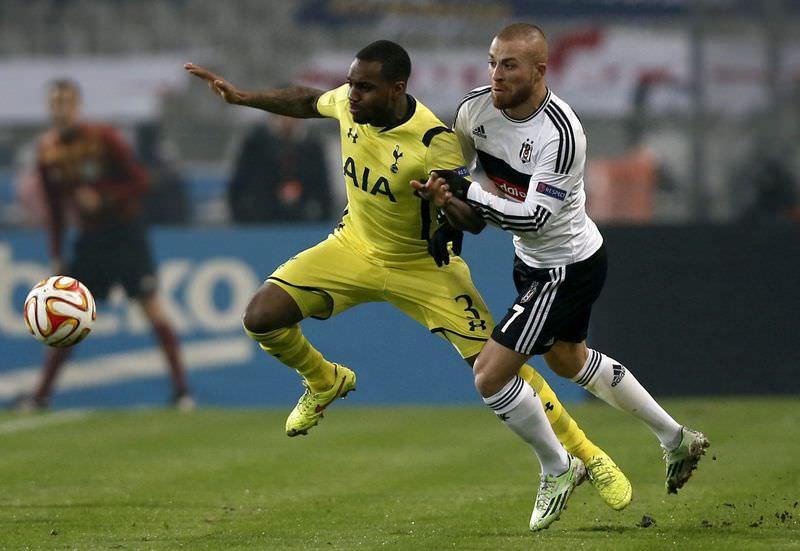 Be�ikta� - Tottenham maç�na kesinti aras�