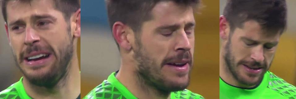 Farbi 4-0'dan sonra gözyaşlarını tutamadı