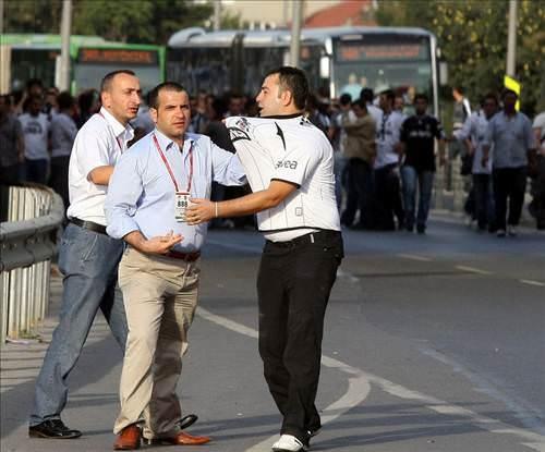 Fenerbahçe - Beşiktaş maçı öncesi olaylar çıktı