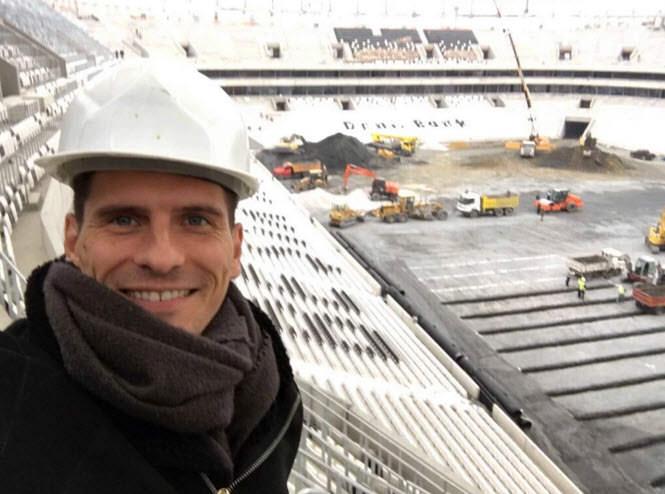 Mario Gomez Vodafone Arena'da