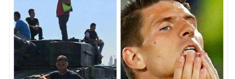 Mario Gomez'in vedası twitter'ı salladı