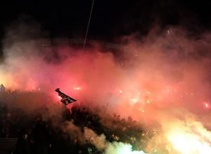 Olimpiyat Stad�'nda Be�ikta�'�n 112.y�l kutlamalar�