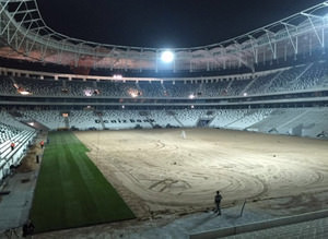 Vodafone Arena ye�illendi