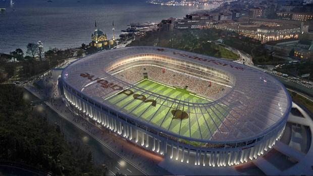 Vodafone Arena'ya büyük onur!