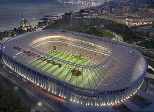 Vodafone Arenaya büyük onur!