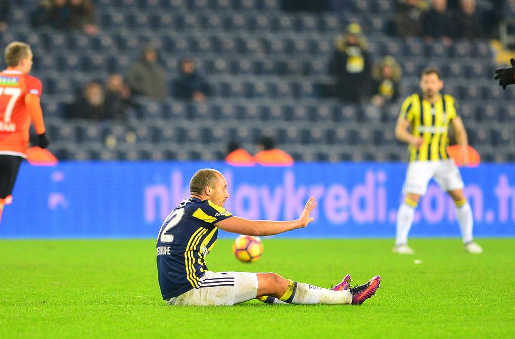 Fenerbahçeli yıldıza protesto