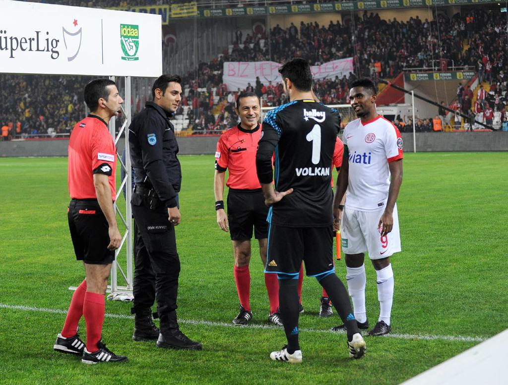 Antalyaspor - Fenerbahçe maçında unutulmaz anlar