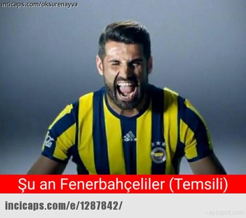 F.Bahçe - Bursaspor caps'leri