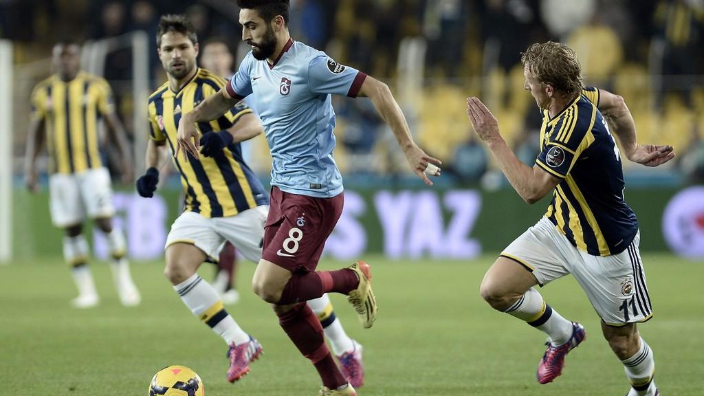 F.Bahçe-Trabzonspor maç�ndan özel kareler