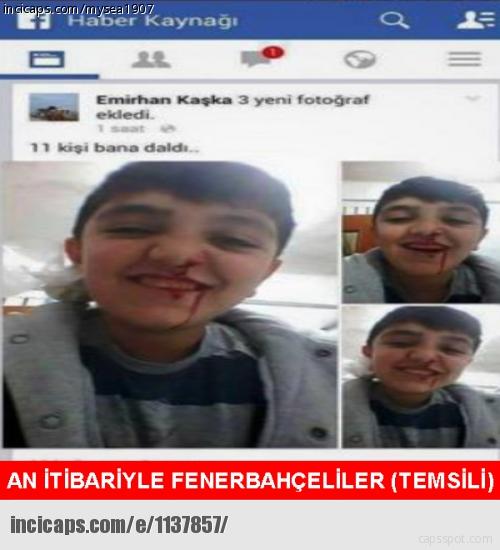 Fenerbah�e-Bursaspor caps'leri
