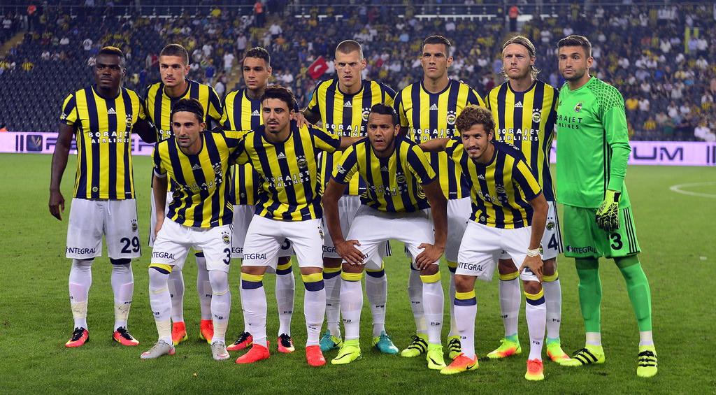 Fenerbahçe - Monaco maçından kareler!
