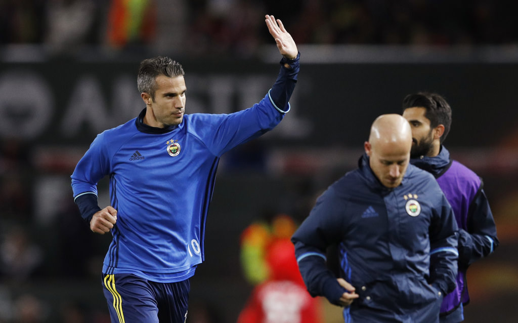 Manchester United - Fenerbahçe maç�ndan kareler!