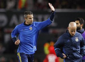 Manchester United - Fenerbahçe maçından kareler!