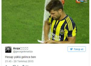 Pereira Ribas'a not g�nderdi sosyal medya y�k�ld�