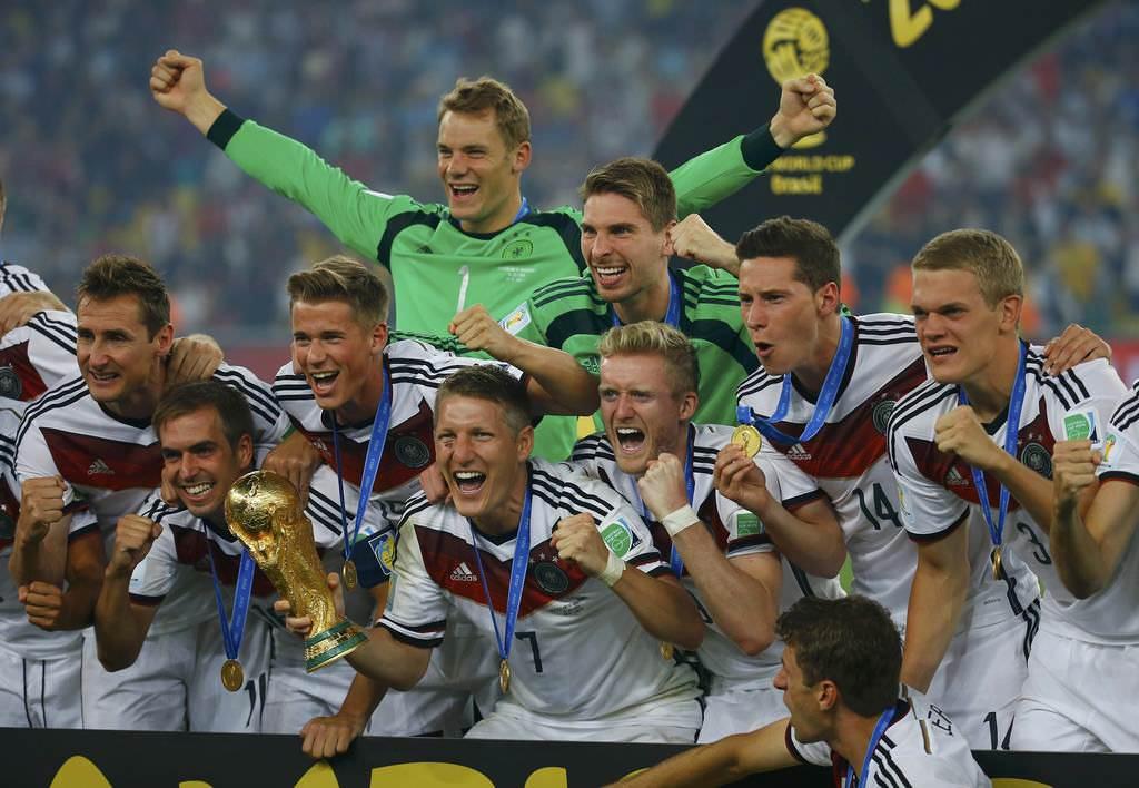 Almanya'n�n kupa co�kusu