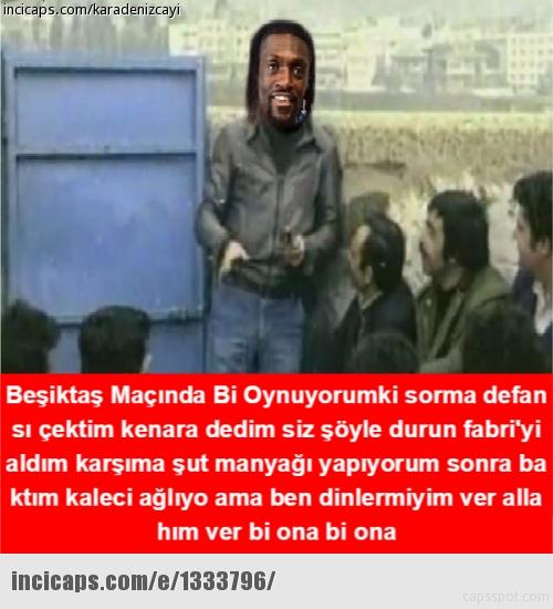 Başakşehir - Beşiktaş capsleri