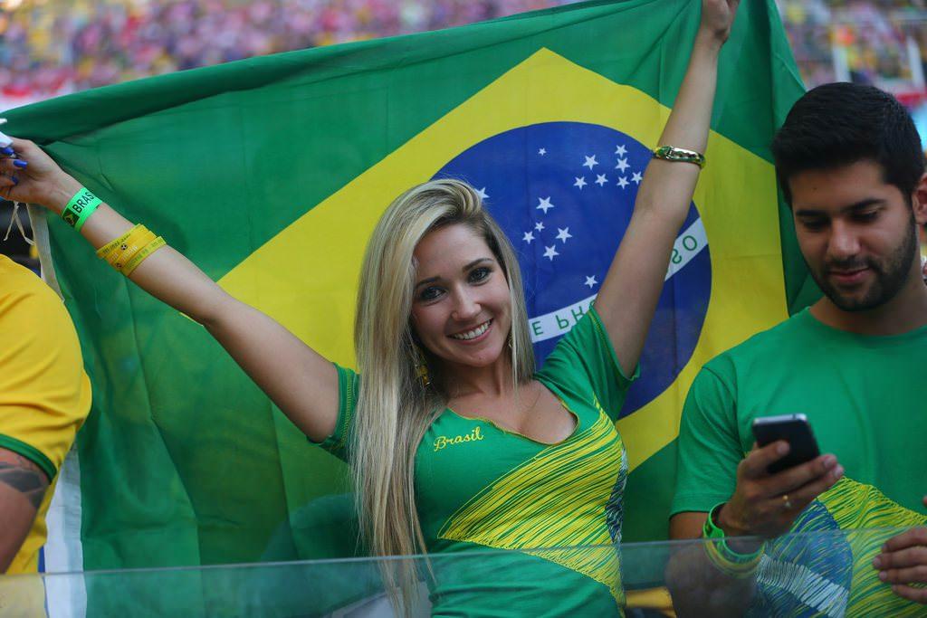 Brezilya'da muhte�em a��l��