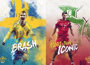 EURO 2016 tak�m posterleri