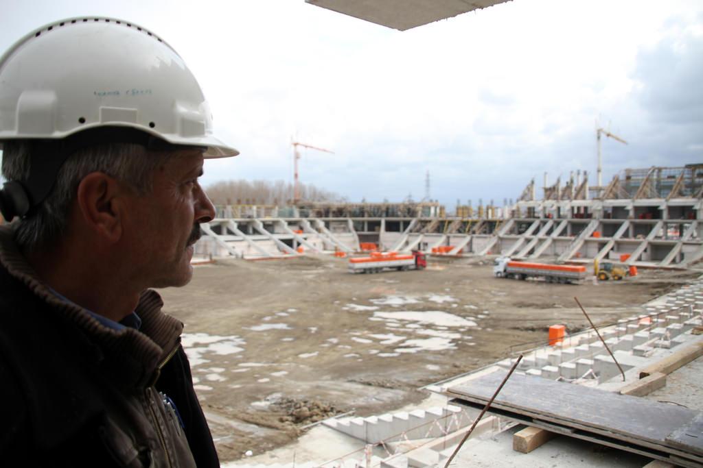 Samsun Arena y�kseliyor