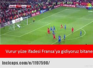 T�rkiye - �zlanda caps'leri