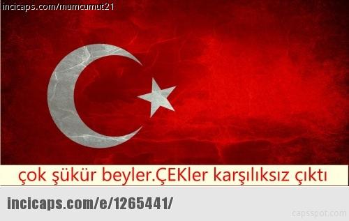 Türkiye-Çek Cum. maç� caps'leri