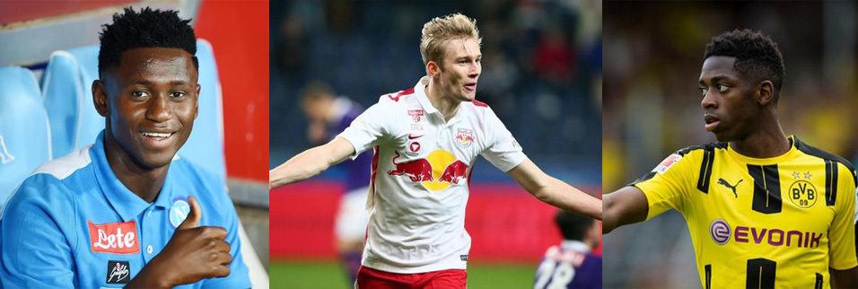 UEFA 'süper yetenek' listesini açıkladı