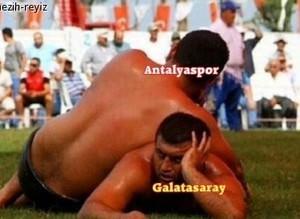 Antalyaspor-G.Saray caps'leri