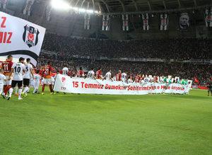 Be�ikta� - Galatasaray ma��nda kareler!