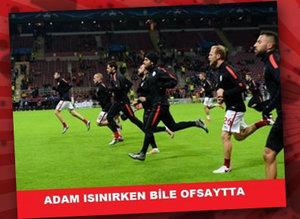 Galatasaray - Astana caps'leri