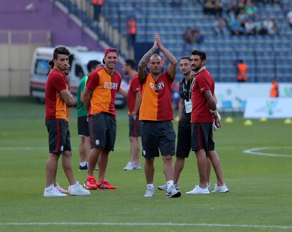 Galatasaray - Bursaspor ma��ndan foto�raflar