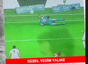 Galatasaray - Gen�lerbirli�i caps'leri