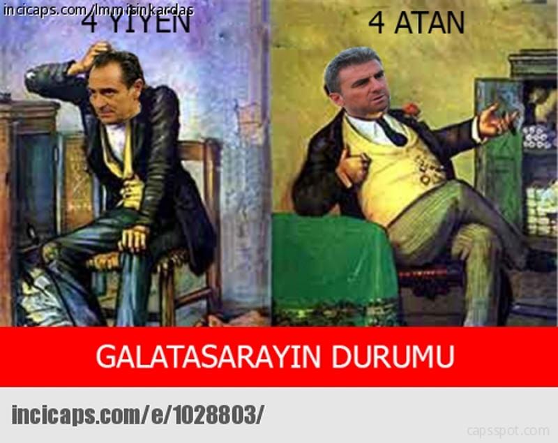 Galatasaray - Eski�ehirspor maç� 'caps'leri