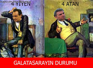 Galatasaray - Eski�ehirspor ma�� 'caps'leri