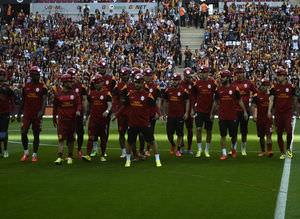 Galatasaray - Kayseri Erciyesspor ma��ndan kareler