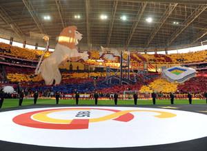 Galatasaray trib�nleri bir ilke haz�rlan�yor