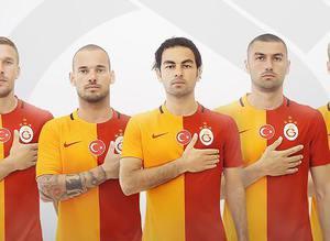 Galatasaray'�n 2015-16 sezonu formalar�