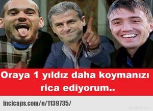 Galatasaray'�n �ampiyonluk caps'leri