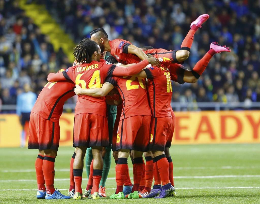 G.Saray-Astana maç�ndan kareler