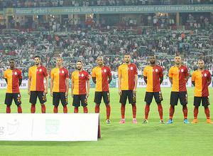 ��te Galatasaray'�n Devler Ligi Kadrosu