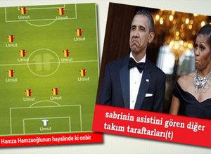 Konyaspor - G.Saray caps'leri