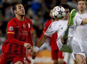 Real Madrid-G.Saray ma��ndan kareler