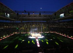 TT Arena'da co�kulu kutlama