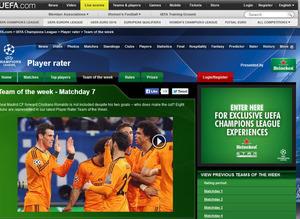 UEFA Haftan�n 11'i
