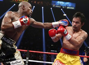Asrın boks müsabakası 'Yenilmezin'