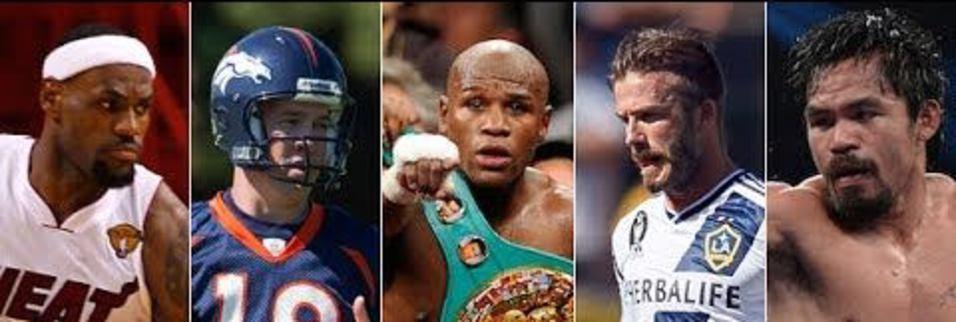 Spor dünyasının en çok kazanan 20 ismi