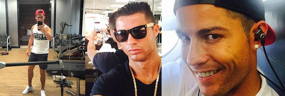 Ronaldo: Bir 'selfie' çılgını...