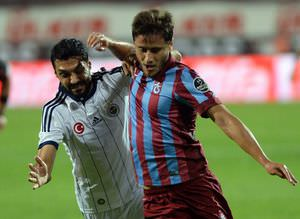 Trabzonspor - Fenerbah�e ma��ndan kareler